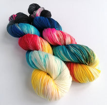 Load image into Gallery viewer, Hand dyed yarn pre-order - Nebula - Dyed to Order.