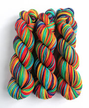 Load image into Gallery viewer, Rainbow on Superwash Merino/Nylon DK.