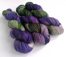 Load image into Gallery viewer, Hand dyed yarn pre-order - Witchy Woman - Dyed to Order.