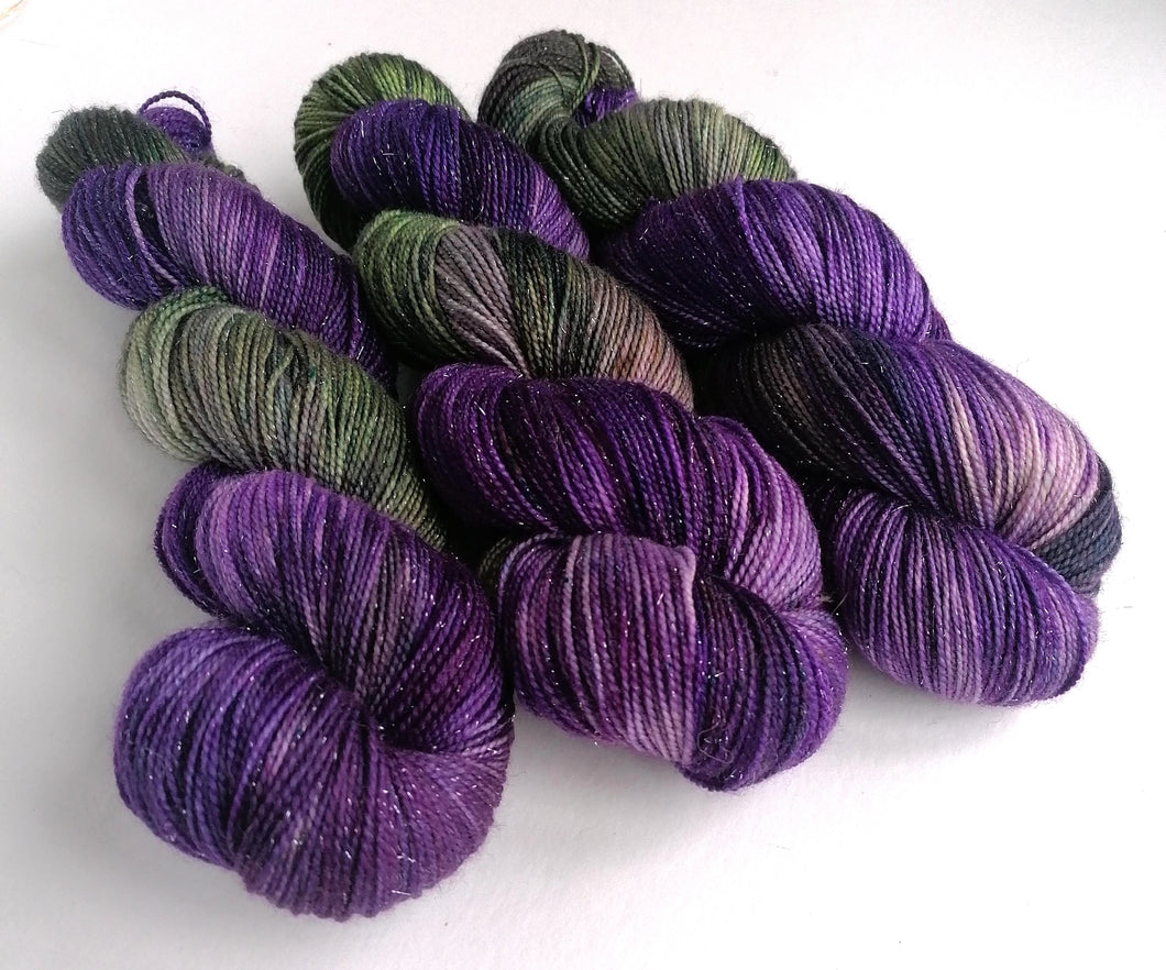 Hand dyed yarn pre-order - Witchy Woman - Dyed to Order.