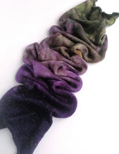 Load image into Gallery viewer, Hand dyed sock yarn blank in a superwash merino/nylon/sparkle base - Witchy Woman