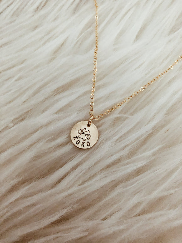 Pup Love necklace