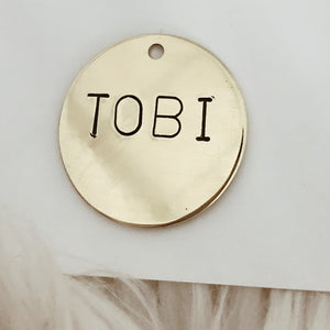 Plain Pet Tag