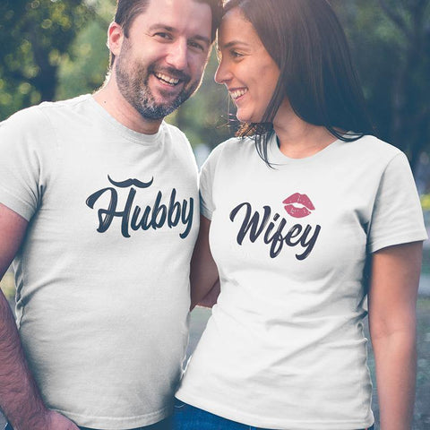 Hubby Wifey! – Couple T-Shirts Online