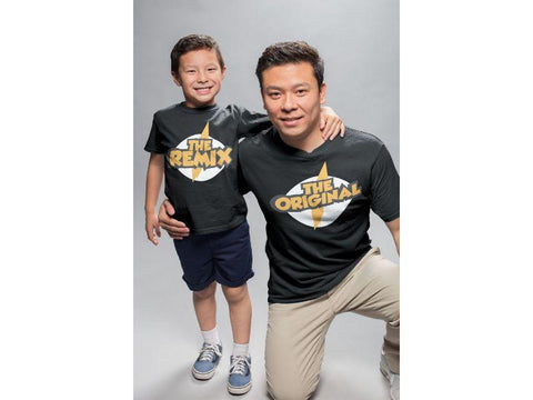 Original The Remix ! Matching Tees For Father And Son (Set Of 2) - Popstore