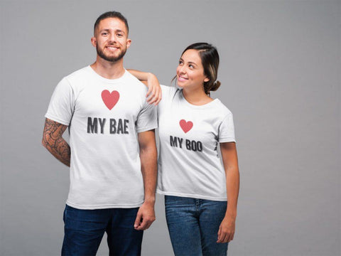 My Bae -My Boo – Couple T-Shirts - Popstore