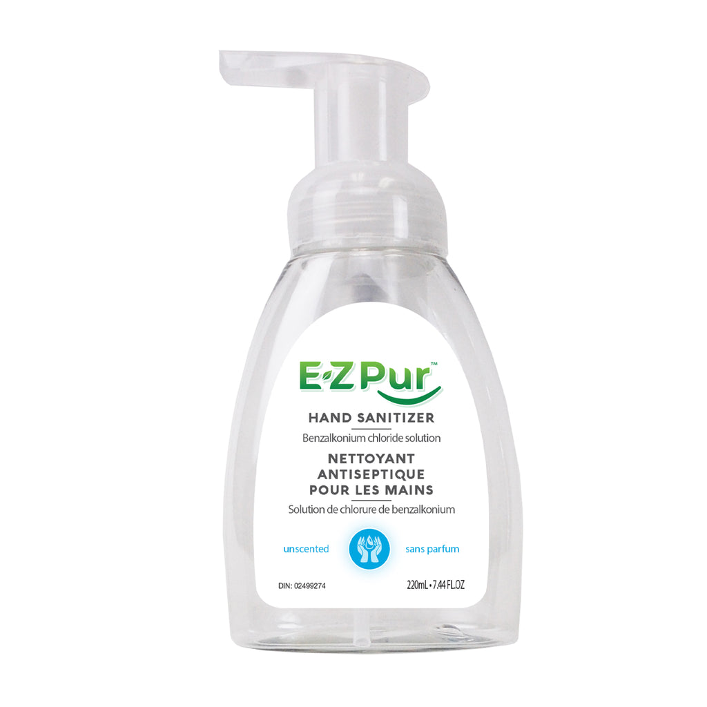 EZ Pur 220ml Sanitizer Foam