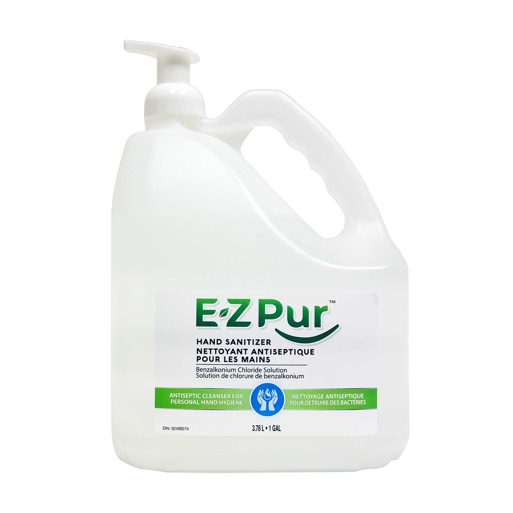 EZ Pur Sanitizer Foam Gallon Jug