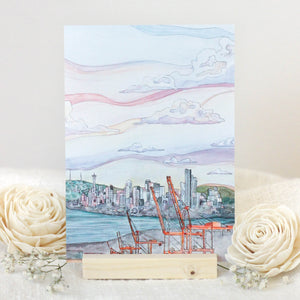 View From West Seattle Bridge - Print