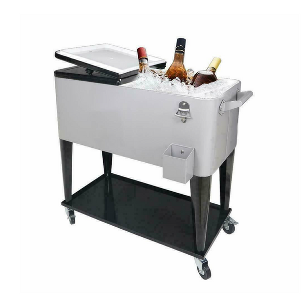 """The Mark"" Party Cooler Cart (80 QT)"