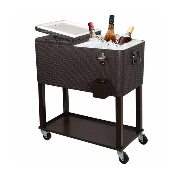 """The Kevin"" Party Cooler Cart (80 QT)"