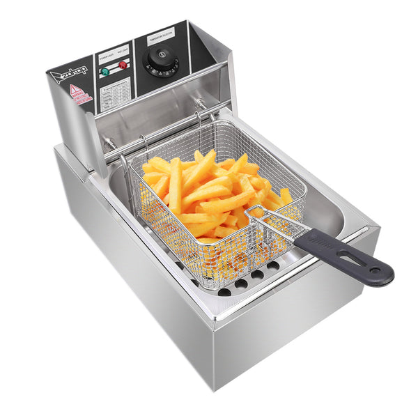 ZOKOP Stainless Steel Deep Fryer (6.3 Quarts)