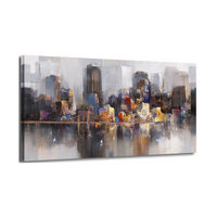 "The Scene ""NYC"" Landscape Canvas"