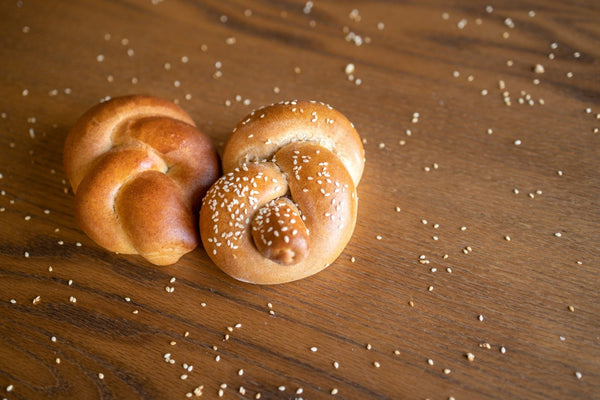Whole Wheat Challah Roll