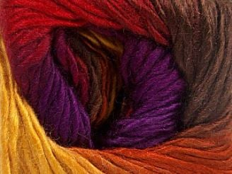 Rainbow Yarn Skein