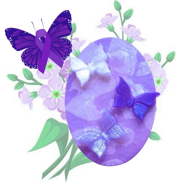 Forget-me-not Soap, supporting the Alzheimer's Association