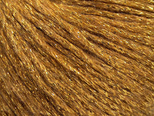 Load image into Gallery viewer, Closeup of gold metallic yarn