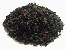 Load image into Gallery viewer, Loose leaf tea including: Black teas, pu­erh tea, lapsang souchong tea, beetroot and bergamot oil.