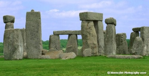 Original photograph of Stonehenge.