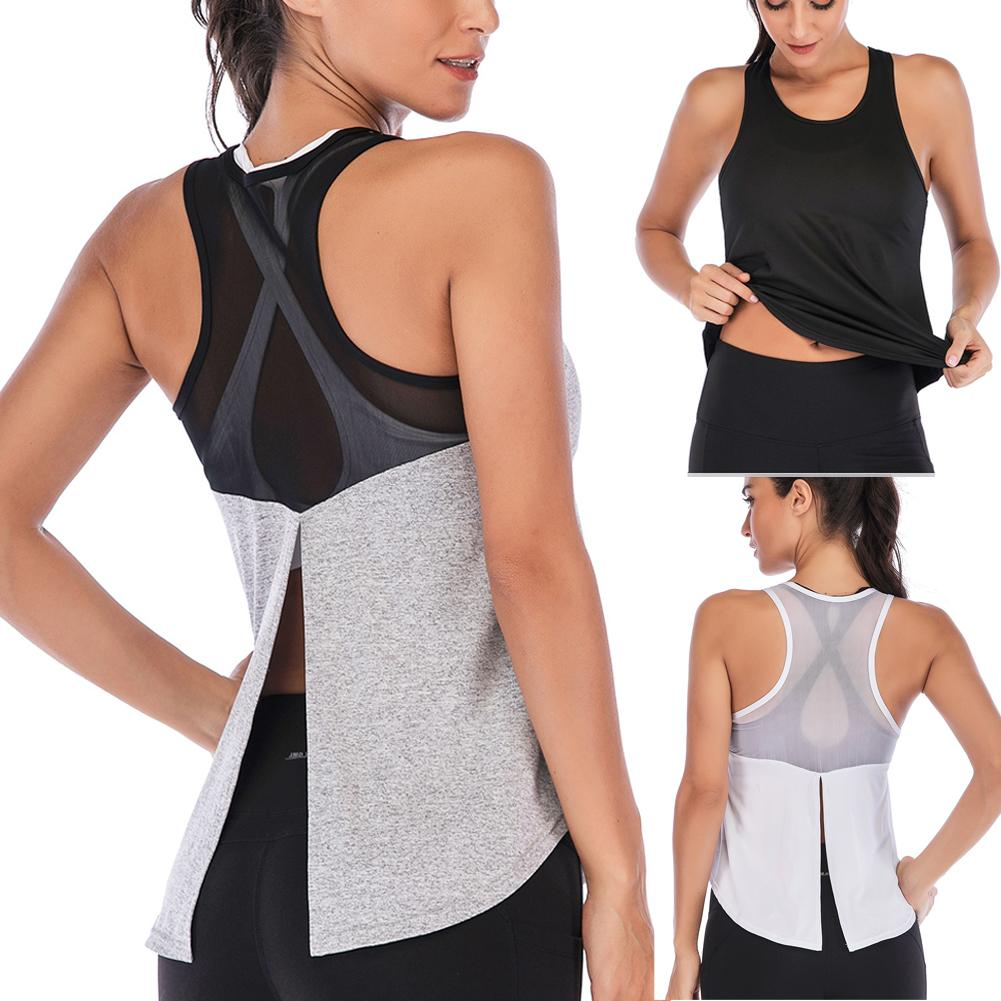 Women Fitness Sports Shirt Sleeveless - AthleisuRE