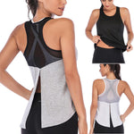 Load image into Gallery viewer, Women Fitness Sports Shirt Sleeveless - AthleisuRE