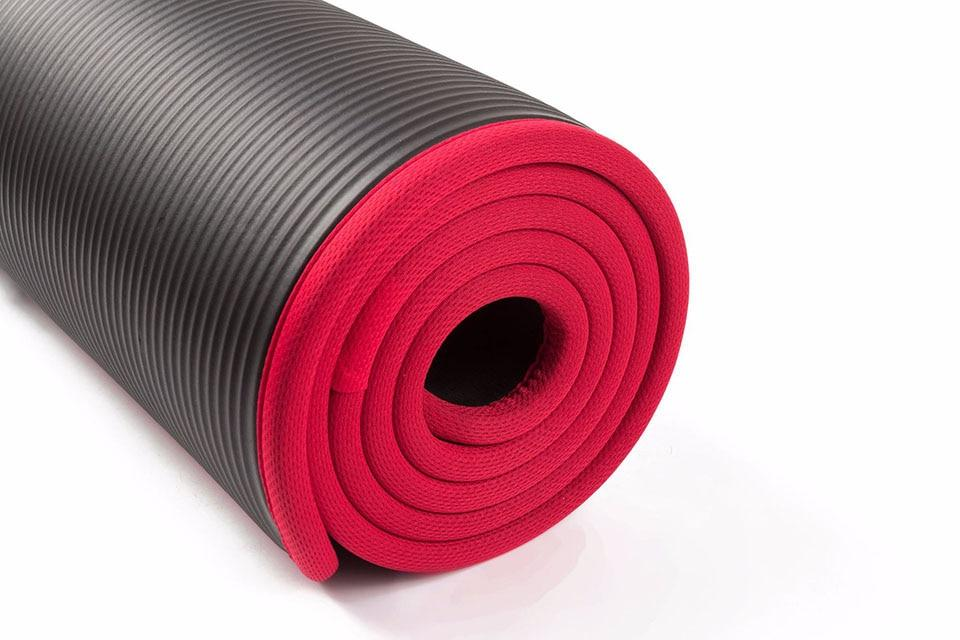 10MM Extra Thick 183cmX61cm High Quality NRB Non-slip Yoga Mats - AthleisuRE