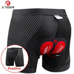 Load image into Gallery viewer, X-Tiger 2020 Upgrade Cycling Shorts Cycling Underwear Pro 5D Gel Pad Shockproof Cycling Underpant Bicycle Shorts Bike Underwear - AthleisuRE