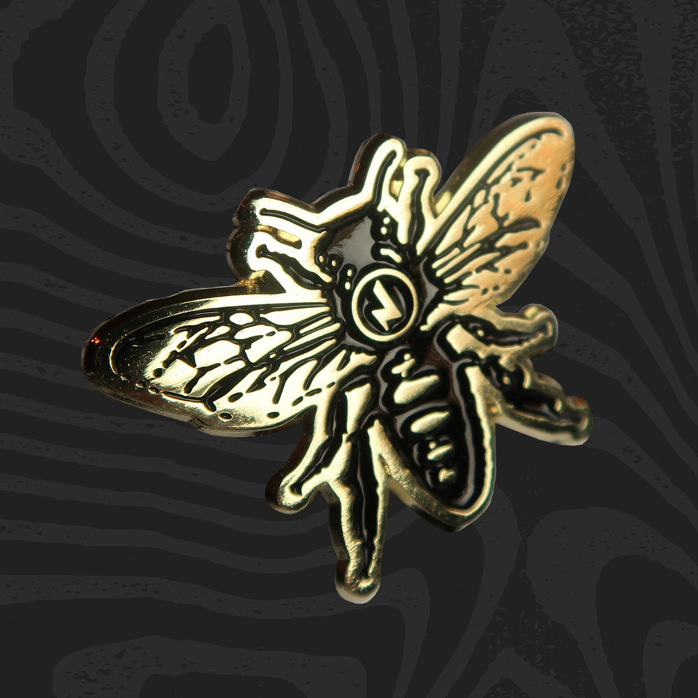 Jimmy's Manchester Bee Pin