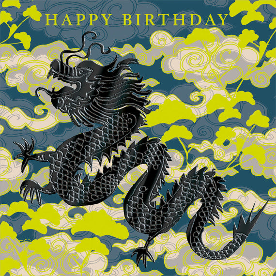 Happy Birthday - Dragon
