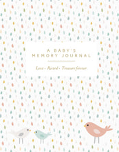 Load image into Gallery viewer, Babys Memory Journal