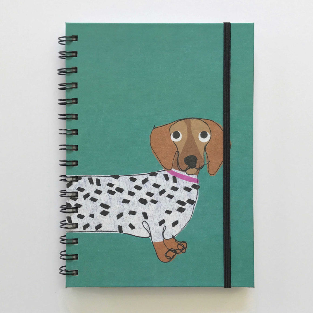 A5 Hardback Lined Notebook