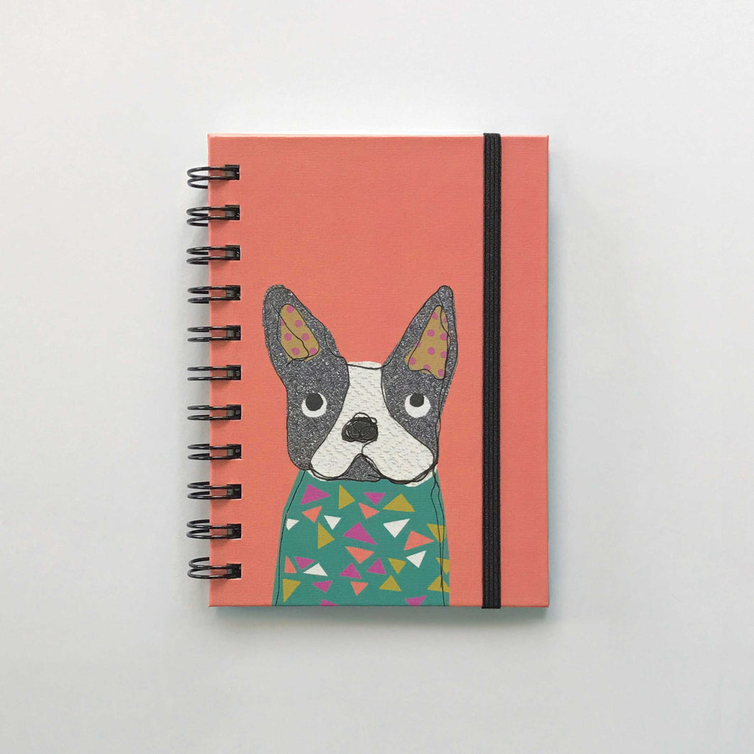 A6 Hardback lined Notebook