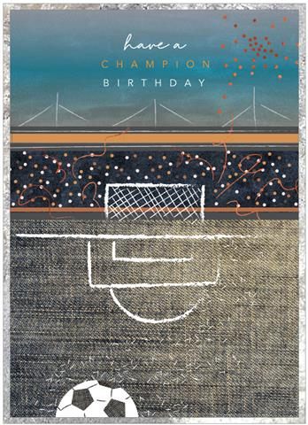 Champion Birthday - Football