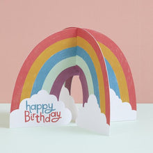 Load image into Gallery viewer, Happy Birthday Card - Rainbow