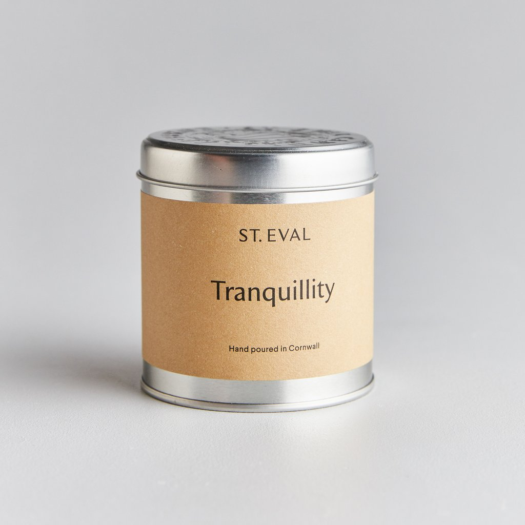 Tranquillity Tin Candle