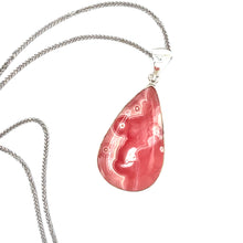 Load image into Gallery viewer, Sterling Silver Rhodochrosite Necklace