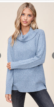 Cowl Neck slouchy sweater