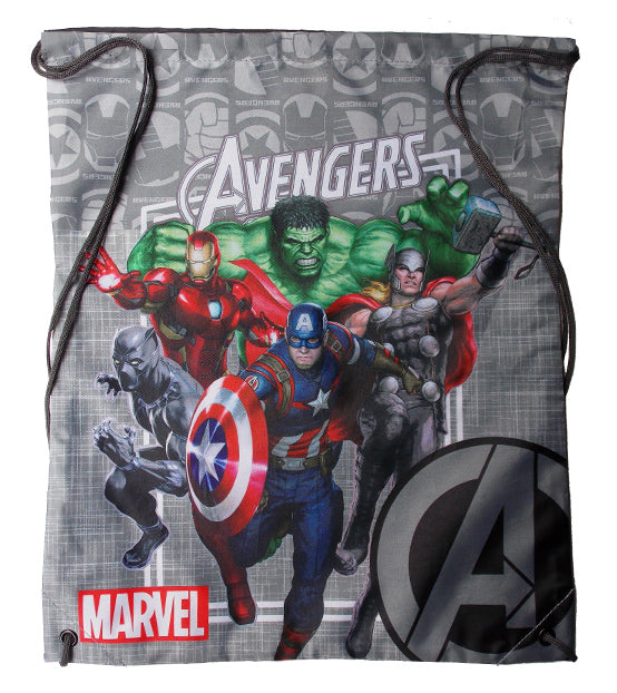 MARVEL AVENGERS DRAWSTRING BAG BACKPACK