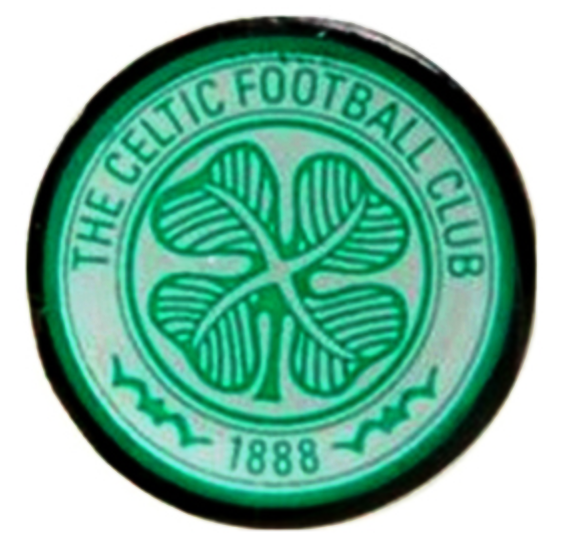 CELTIC FOOTBALL CLUB CREST METAL PIN BADGE