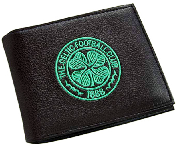 CELTIC FOOTBALL CLUB EMBROIDERED WALLET