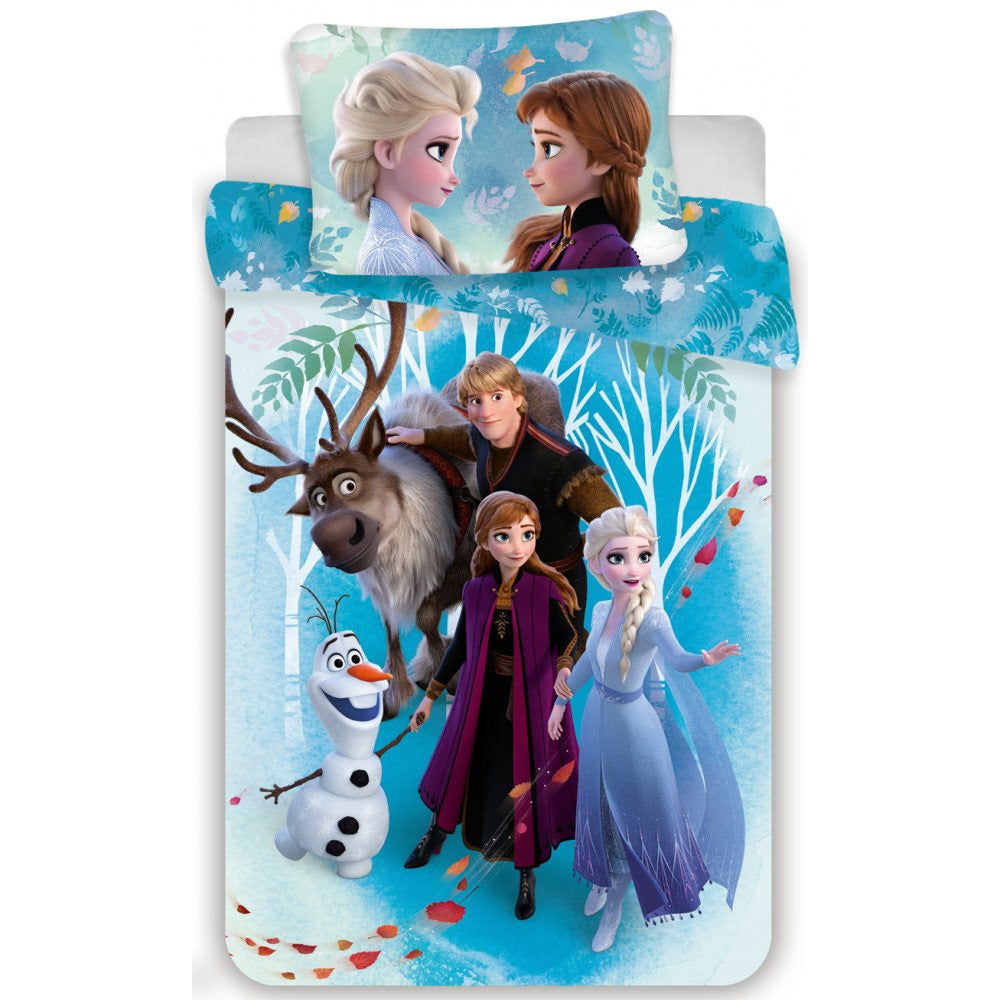 DISNEY PRINCESS FROZEN II SINGLE DUVET COVER SET