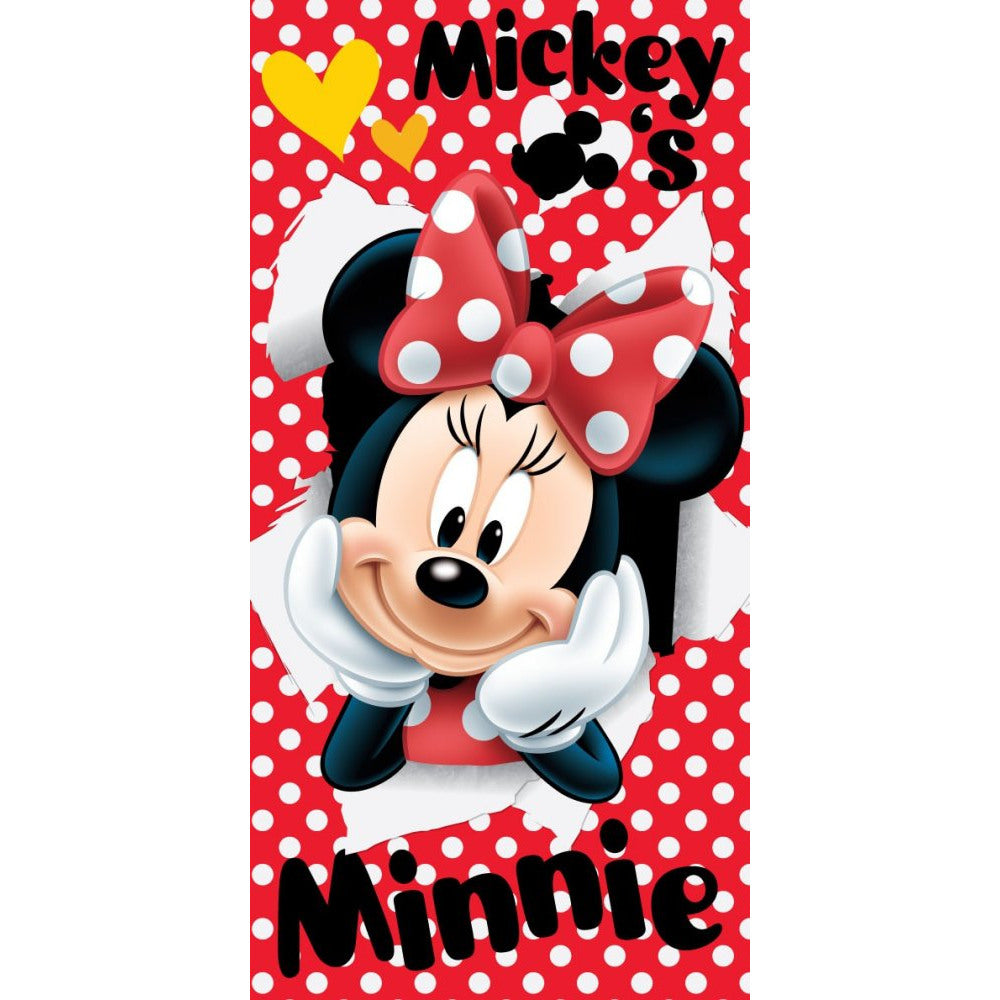 Minnie-mouse-towel