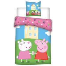 Load image into Gallery viewer, peppa-pig-duvet