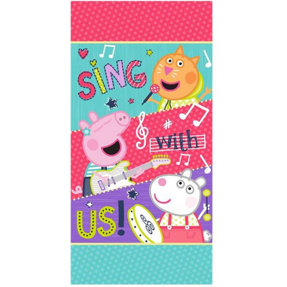 PEPPA PIG 100% COTTON BATH BEACH TOWEL