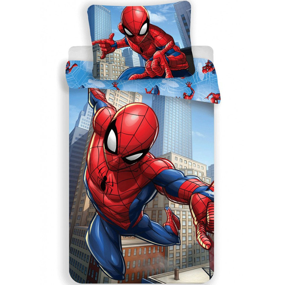 MARVEL SPIDER-MAN SINGLE DUVET COVER SET