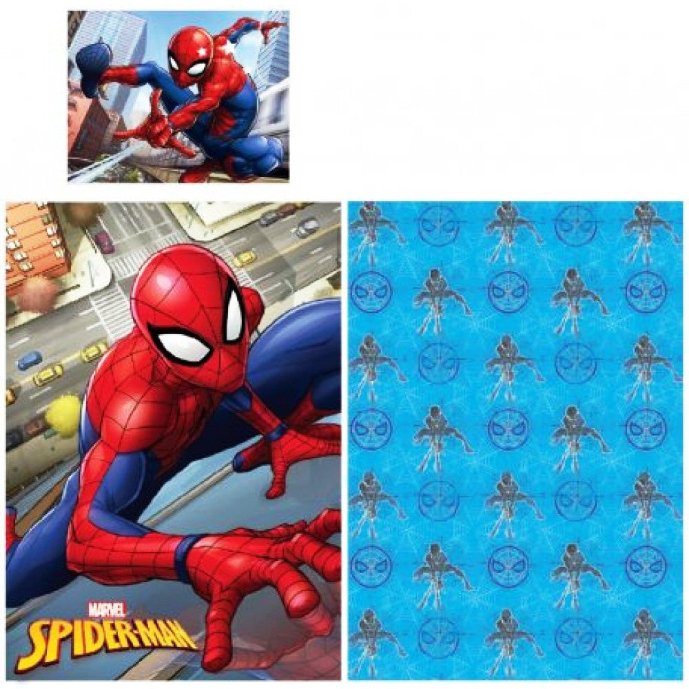 MARVEL SPIDER-MAN 100% COTTON SINGLE DUVET COVER SET