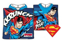 Load image into Gallery viewer, DC COMICS SUPERMAN BATH BEACH TOWEL/PONCHO