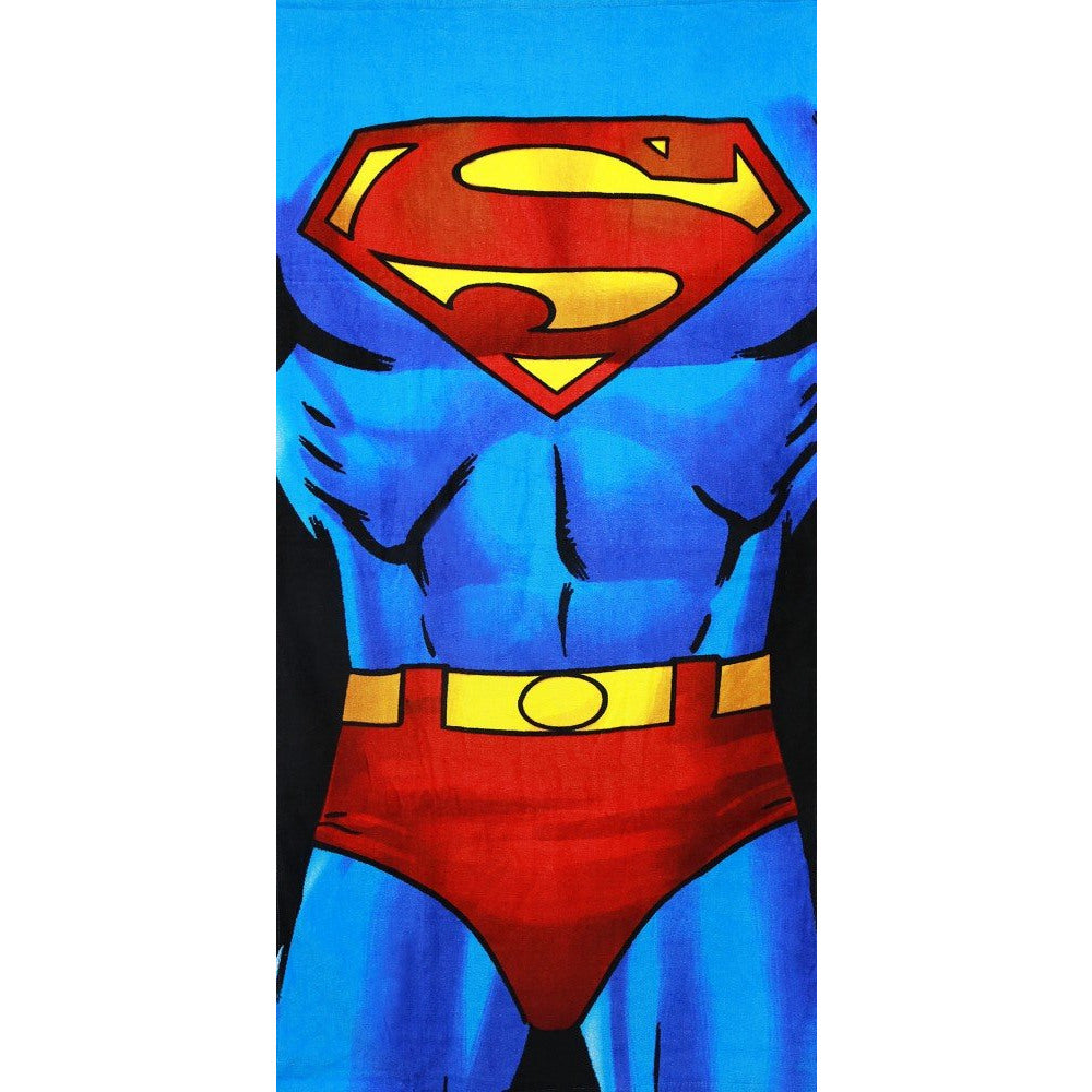DC COMIC SUPERMAN TOWEL