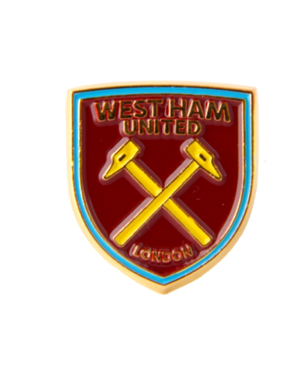 WEST HAM UNITED FOOTBALL CLUB CREST PIN BADGE