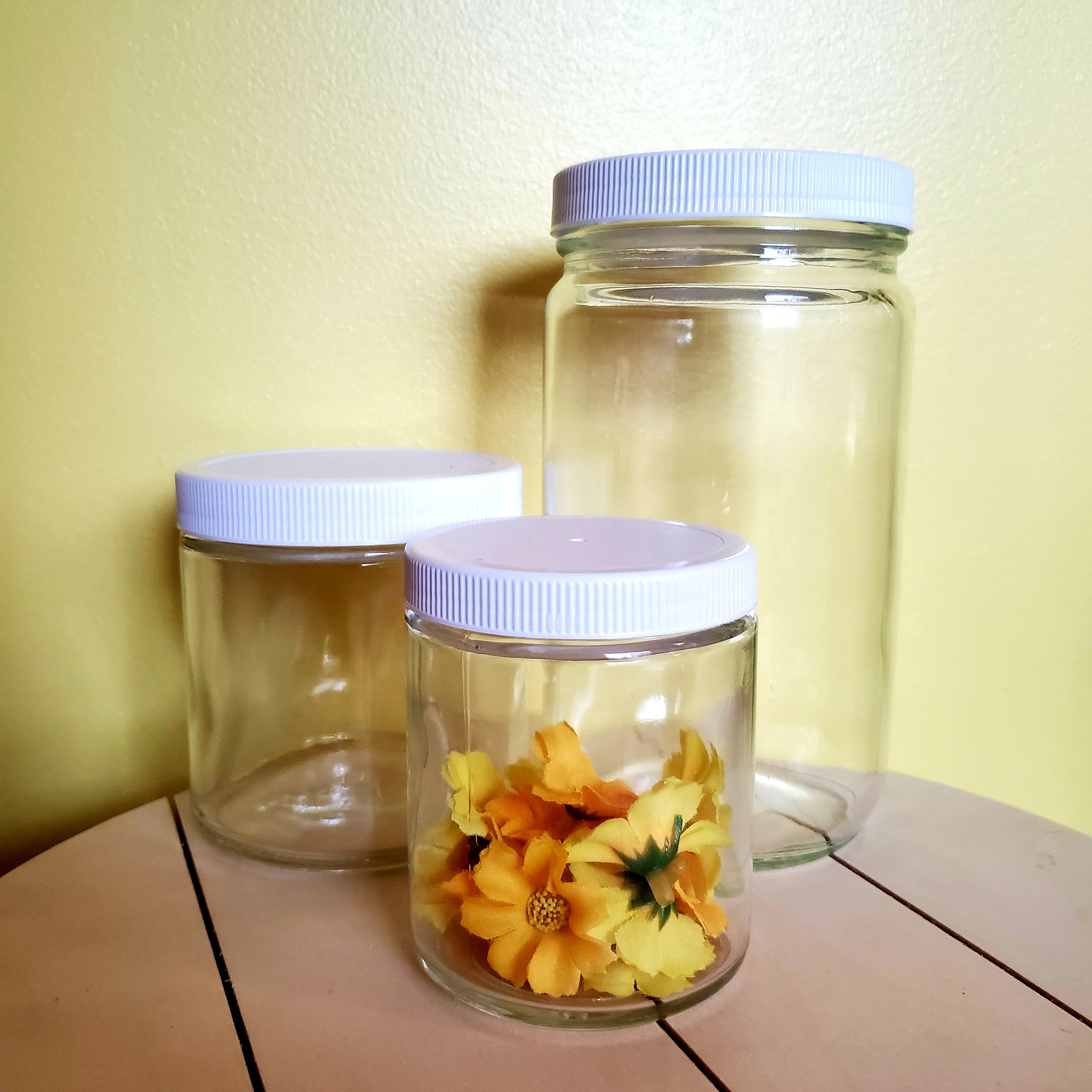 Refundable Glass Jars